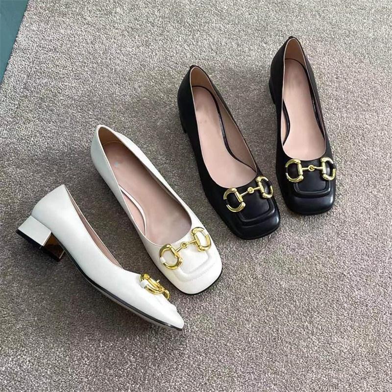 Giày nữ đế vuông 3p xích tròn cực xinh. Chất liệu da mềm, đi êm chân. Kiểu dáng trẻ trung, dễ phối đồ. Kiểu dáng trẻ trung, cá tính thumbnail